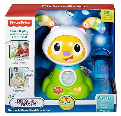 Digital Dog Fisher Price Bright Beats Dance Move BeatBowWow Learn Play Kids Toy