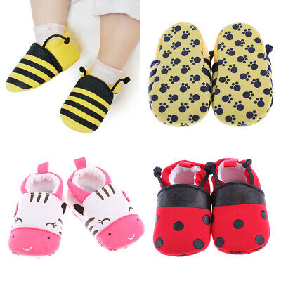 New Baby Toddler Infant Boy Girls Plaid Shoes Trainers Pram Crib Soft Sole