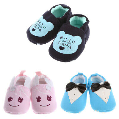 Baby Toddler Anti-slip Warm Infant Boy Girls Pram Crib Soft Sole Shoes