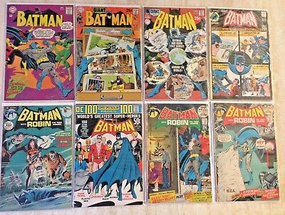 Batman: Bronze Age Lot Of 17: 197, 218, 223, 233, 235, 238-242, 254-258, 260-261