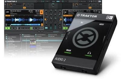 Native Instruments Traktor Audio 2 MK2 - DJ USB-Audiointerface