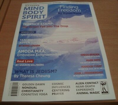 Watkins Mind Body Spirit magazine #52 Winter 2017 Finding Freedom +Terence Stamp