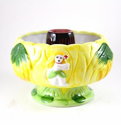 Volcano Scorpion Tiki Ceramic Bowl for Polynesian Bar 32 Ounces Cocktail Vessel