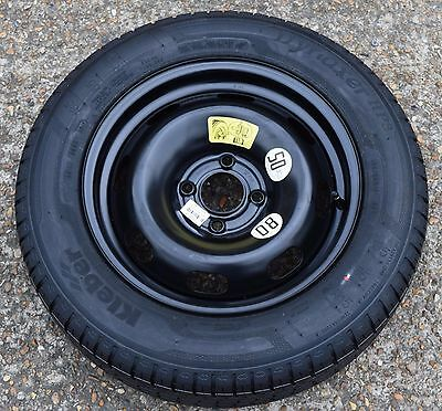 Genuine Peugeot 208 2008 Citroen Ds3 C3 185/65 R15 Full Spare Wheel Kleber #360