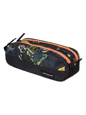Boys Quiksilver Tasmen Pencil Case - Black