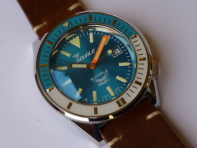 Orologio Squale MATIC Sub Professional 60 ATM light blu ALL LUME