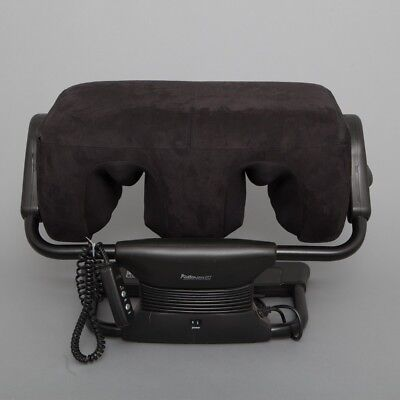 iJoy Ottoman 2.0 Calf & Foot Massager Black Microsuede w/Remote Control