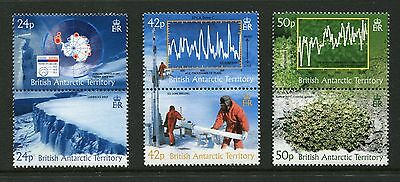British Antarctic Terr 2004 Climate Change set of 6 stamps SG389-394 MNH AS182