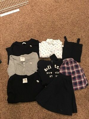 Anercrombie Kids Girls Clothes Lot Of 8