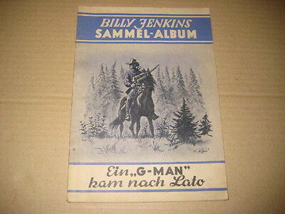 Billy Jenkins  Sammel Album 2 ohne Bilder ORIGINAL