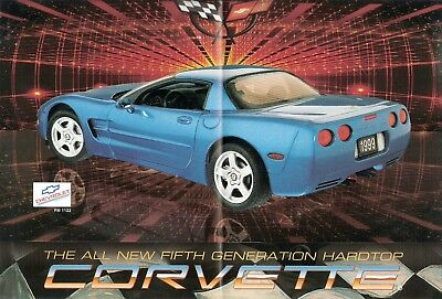 Franklin Mint 1:24 1999 C5 Corvette LS1 Coupe Brochure