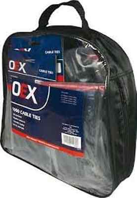 Oex Zip Up Carry Bag 1000 Cable Tie Pack