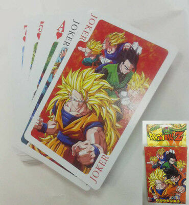 Dragon Ball Z . Poker Spiel Karten Set playing trading cards anime son goku