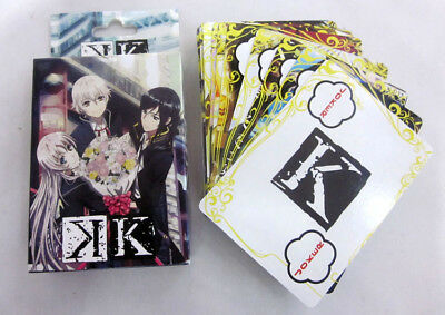 K: Return of Kings . Poker Spiel Karten Set playing trading cards anime Yatogami
