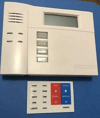 New honeywell 6150rf fixed english integrated transceiver keypad honeywell ademco 6150rf fixed english keypad touchpad use with vista 15p 20p a sciox Image collections
