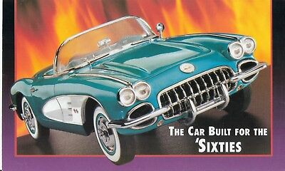 Franklin Mint 1:24 1960 Corvette Convertible Brochure