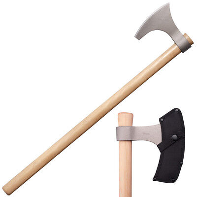 "COLDSTEEL 90WVBA Cold Steel Viking Hand Axe 30"" Overall Hickory Handle"