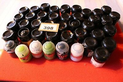 Games Workshop Citadel Paints Job Lot Used Spares Repairs Warhammer Pots Classic