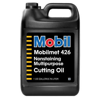 Mobilmet 426, Cutting Oil, 1 gal, 103799, Brown