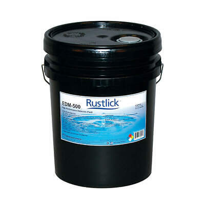 RUSTLICK Dielectric Oil,5 gal,Bucket, 72055, Fluorescent Green