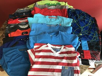 Huge Lot Of Boys Summer Clothes Size M 10-12