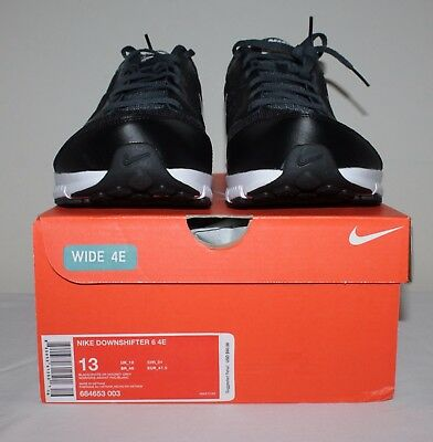 new high official sale strong packing NIKE MEN DOWNSHIFTER 6 Extra Wide Sneaker shoes size  9.5,10,11,11.5,12,13,14 NWB