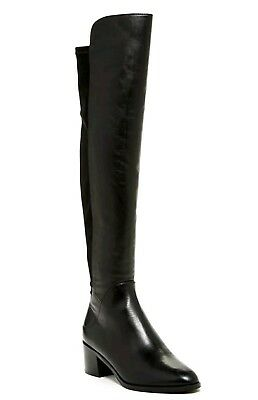 7e72cb555c2 VIA SPIGA WOMEN S Varun Leather   Stretch Over-the-Knee Boots Size 6 ...