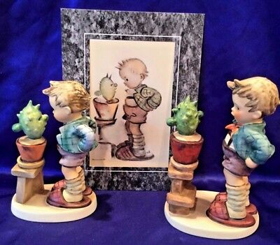 """Lot Of 2, Goebel Hummel """"confidentially"""" Figurines, # Hum 314, Different Styles!"""