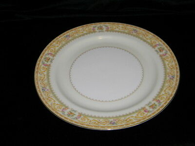 -Noritake China - 10 Inch Dinner Plates - Lebrun Pattern #3793