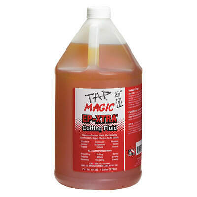 TAP MAGIC Cutting Oil,1 gal,Squeeze Bottle, 10128E, Yellow
