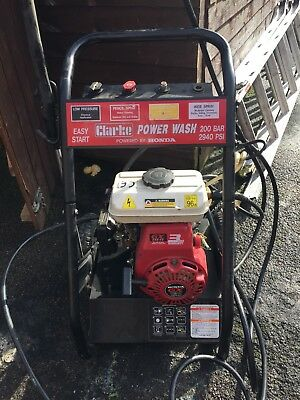 Honda GX120 petrol Pressure Washer 200BAR, 2940 Psi