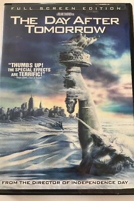 THE DAY AFTER TOMORROW Full Screen Edition DVD No Case No Art