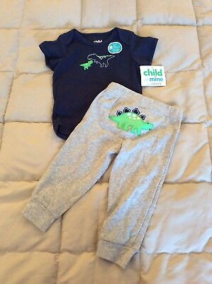 New With Tags Baby Boys Outfit Size 6-9M