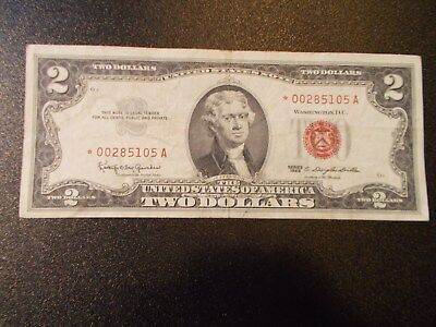 1963 2.00 Bill Red Seal *STAR NOTE*