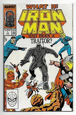 What If 1998 #1 Very Fine Iron Man