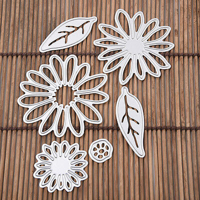 Blume Blatt Cutting Dies Stencil Scrapbook Album Paper Card Embossing Crafts#