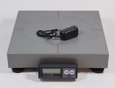 Mettler Toledo PS60 Shipping Parcel Scale 150lb x 0.05lb - RS232 - ABS Platter