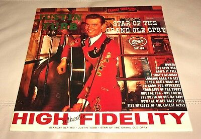 Justin Tubb Star of the Grand Ole Opry Sealed LP
