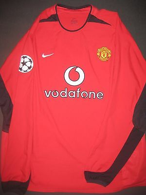 new product bfa6c 93387 2000-2002 Authentic Nike Manchester United Ryan Giggs Jersey ...