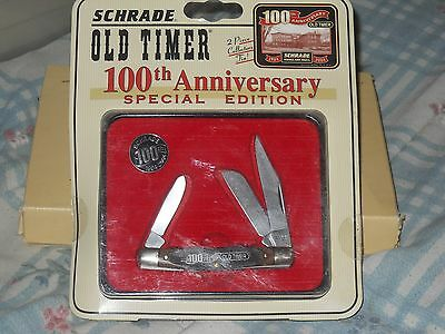 Schrade Old Timer 100th Anniversary Pocket Knife 340T