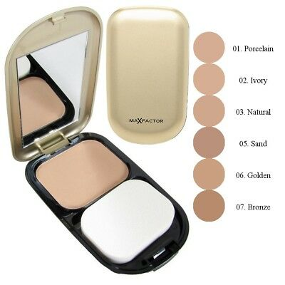3 x Max Factor Facefinity Compact Foundation 10g - Choose Your Shade