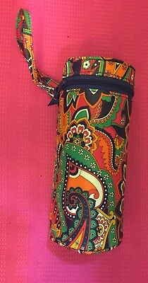 Pre-loved Vera Bradley Venetian Paisley Baby Bottle Caddy Wristlet Bag