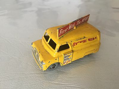MATCHBOX No 42 EVENING NEWS VAN MADE IN ENGLAND BY LESNEY