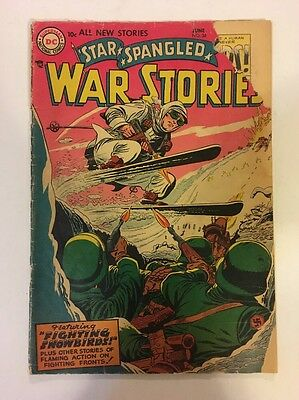 Star Spangled War Stories #34 GD- (1955) chunk out of cover