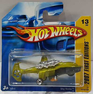 Hot Wheels 2007 Sky Knife First Editions 13/36 K6145
