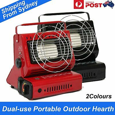 Portable Dual-use Heater Stove Burner Outdoor Camping Hiking Picnic Heaters Gas