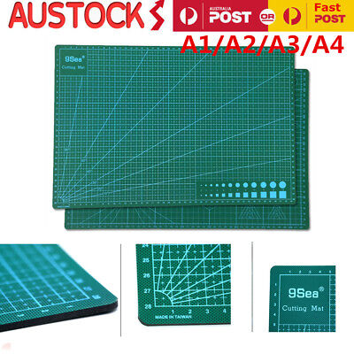PVC Self Healing Cutting Mat Craft Quilting Grid Lines Printed Board A1 A2 A3 A4