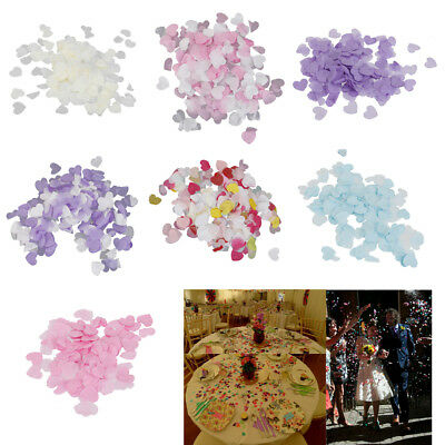 Wedding Party Paper Love Heart Scatter Confetti Wedding Engagement Party Decor