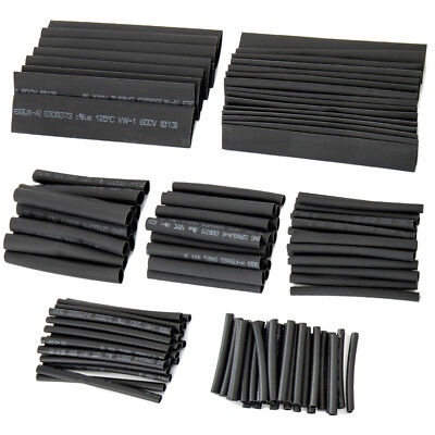 150 pcs Heat Shrink Wire Wrap Assortment Set Tubing Electrical Connection Cable