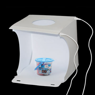 Photography Studio Light Tent Photo Shooting Box with Double LED White